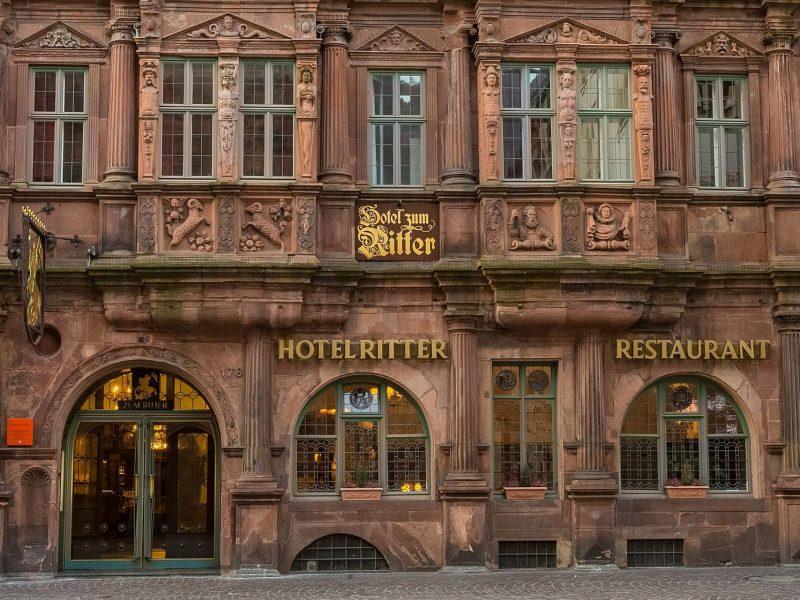 Hotel Zum Ritter St Georg Außenfassade 2