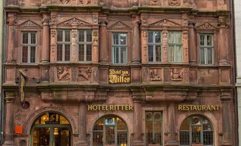 Hotel zum Ritter St. Georg Fassade
