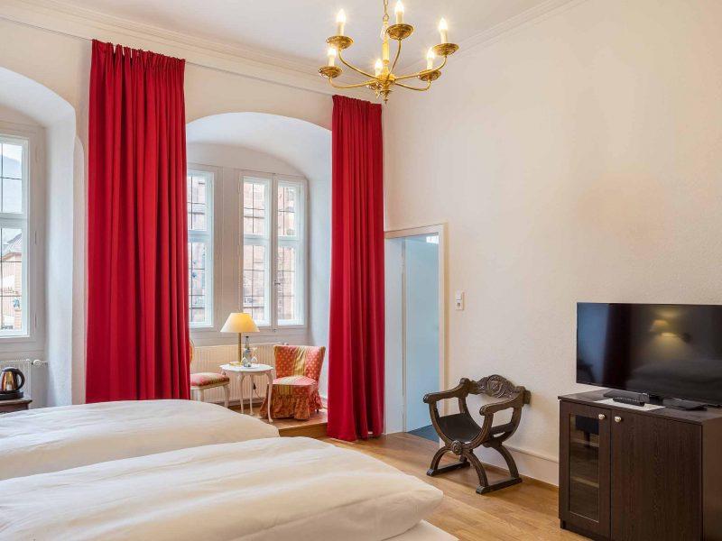 Hotel zum Ritter St. Georg Zimmerausstattung