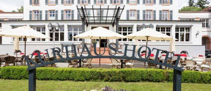 Kurhaus Hotel Bad Salzhausen Fassade