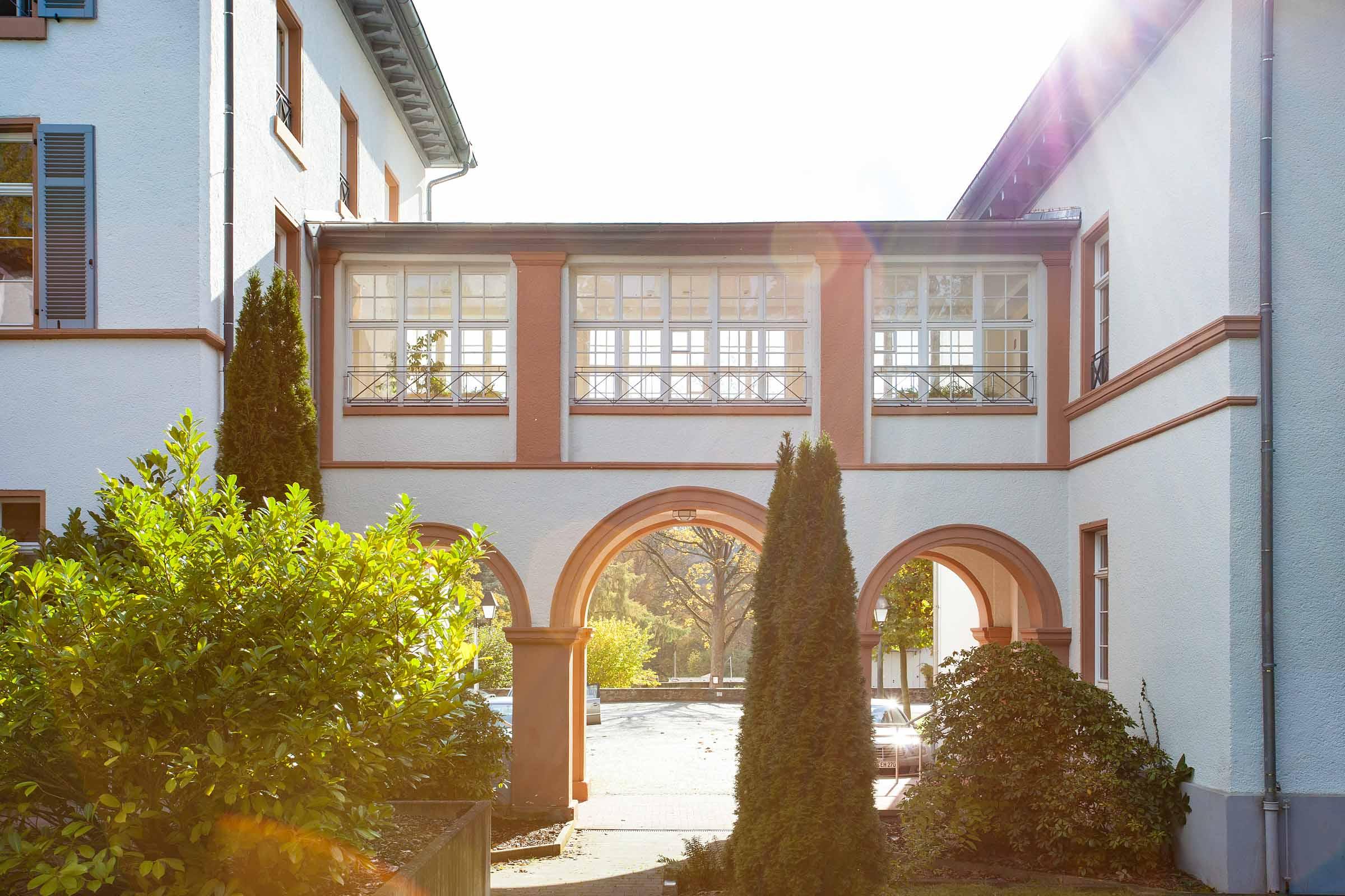 Kurhaus Hotel Bad Salzhausen Historische Hausverbindung