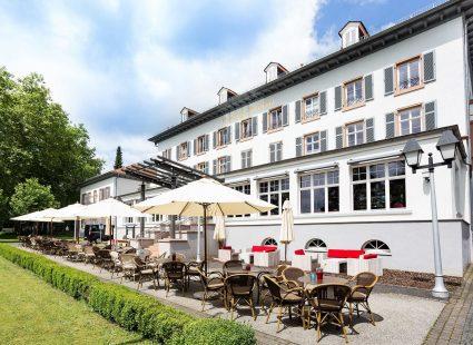 Kurhaushotel Bad Salzhausen mit Terrasse