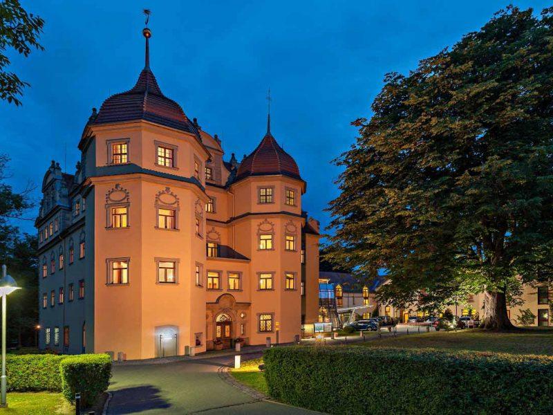 Schlosshotel Althörnitz Fassade