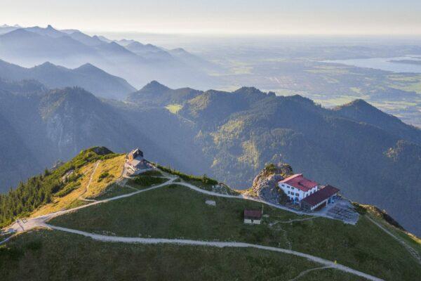 Bergblick Chiemgau