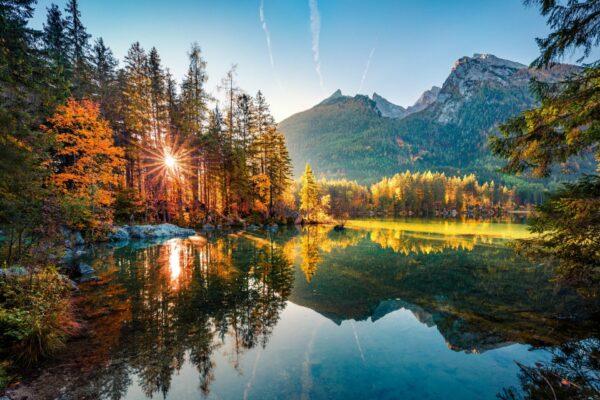 Arbersee Herbst